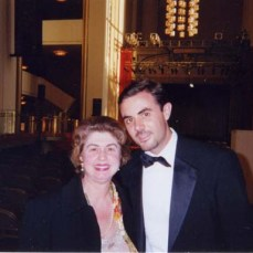 Andre com Anne Schein